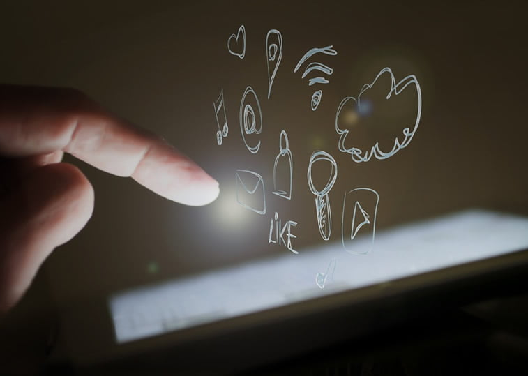 mobilni telefon korinsik interakcija sa sadrzajem