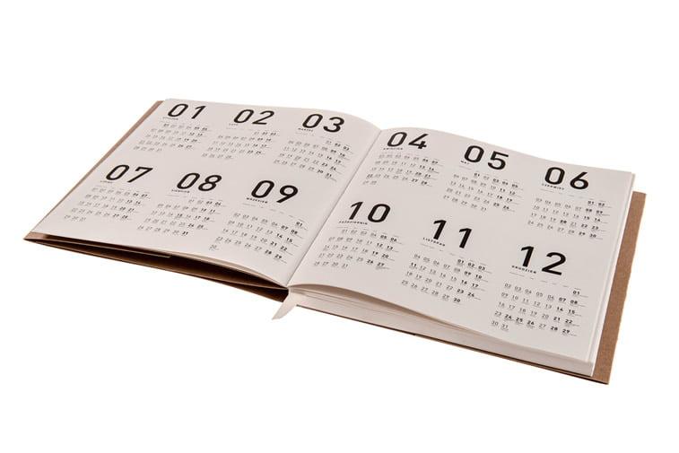 kalendar od recikliranog papira