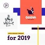 featured image logo design trends 2019