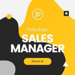 Potreban menadžer prodaje