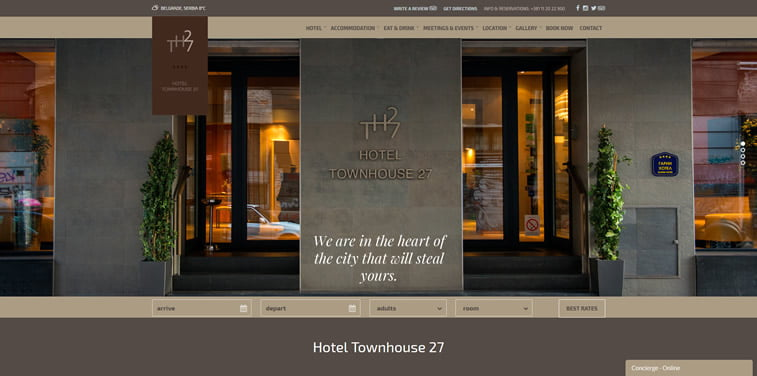 townhouse 27 hotel beograd