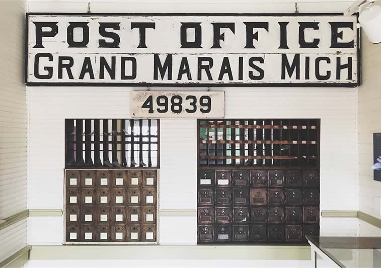 post office retro wes anderson style