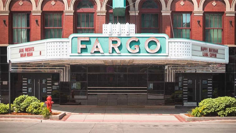 fargo entrance bulding wed anderson style