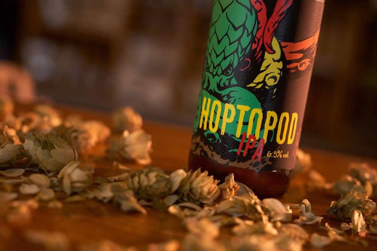 dogma brewery hoptopod pivo ambalaza