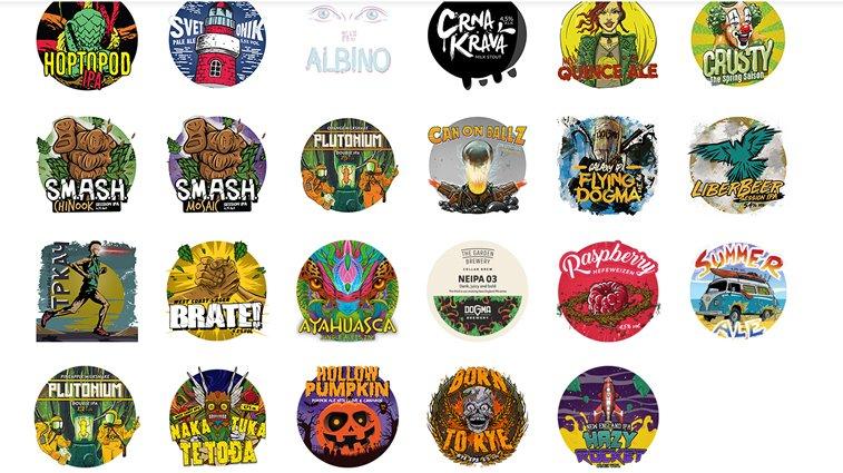 dogma brewery kraft pivo dizjan etiketa
