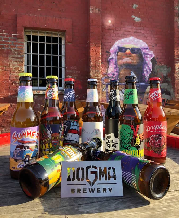 dogma brewery komplet kraft piva