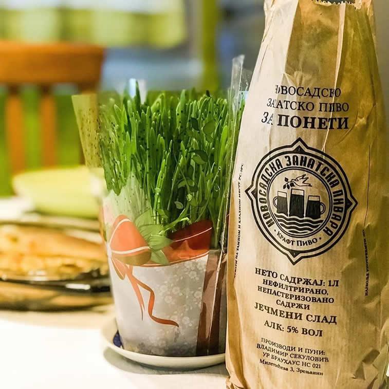 novosadsko zanatsko pivo za poneti pakovanje