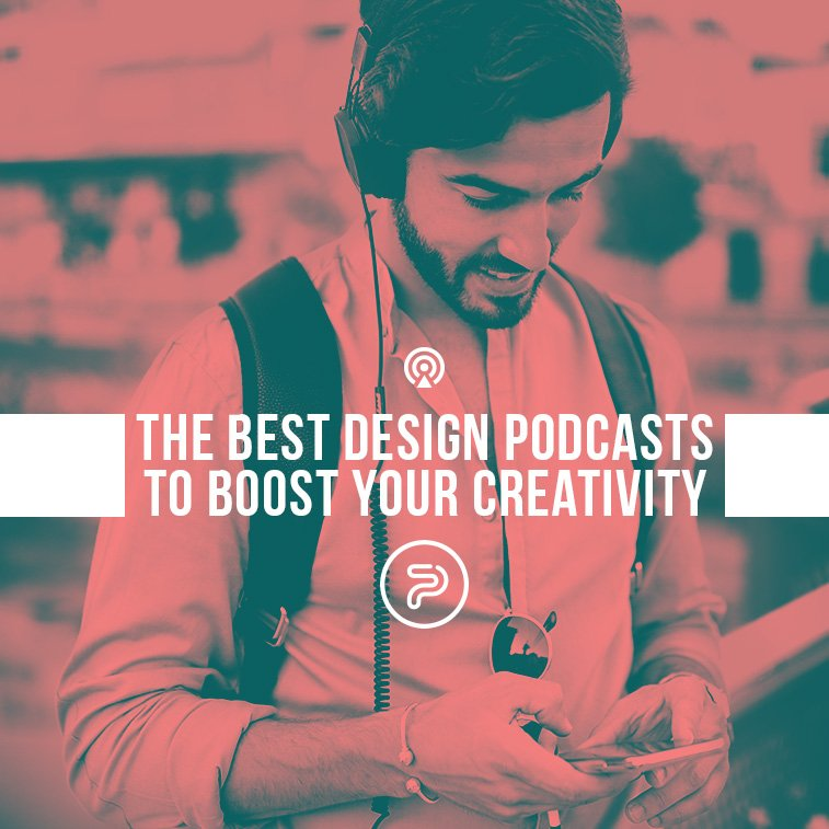 The best design podcasts to boost your creativity