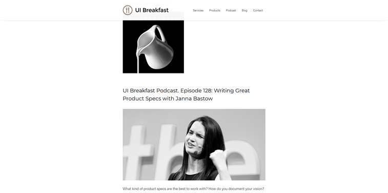 UI breakfast podcast
