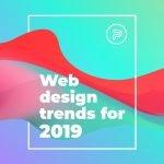 featured image web design trends 2019