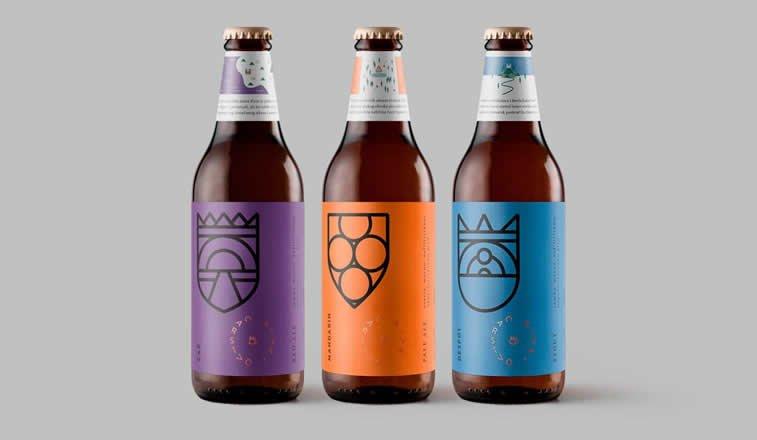 carstvo piva dizajn etikete