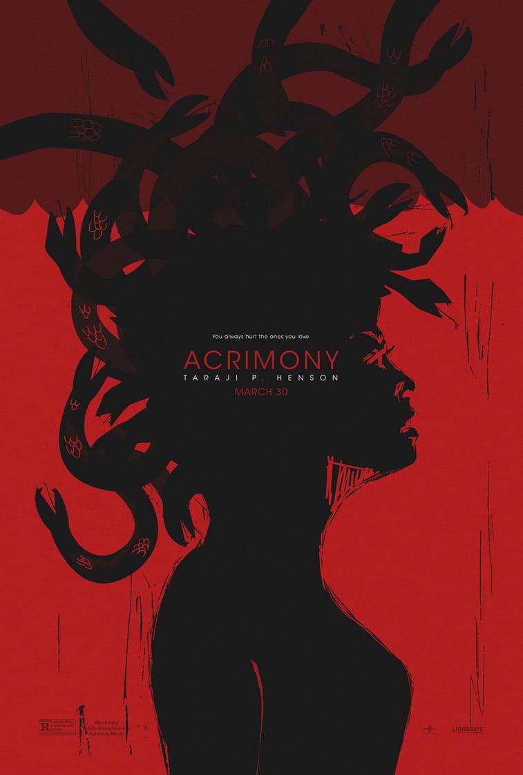 Acrimony film 2018 poster