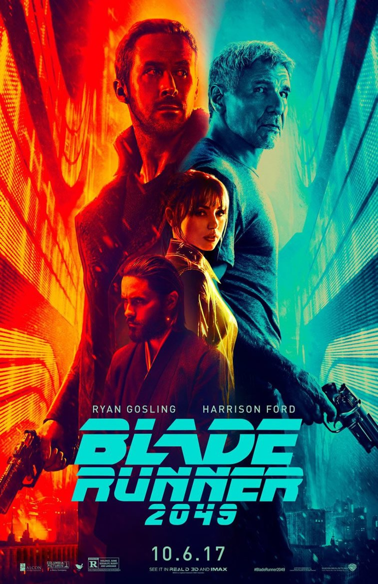 Blade Runner 2049 movie poster harison ford ryan gosling