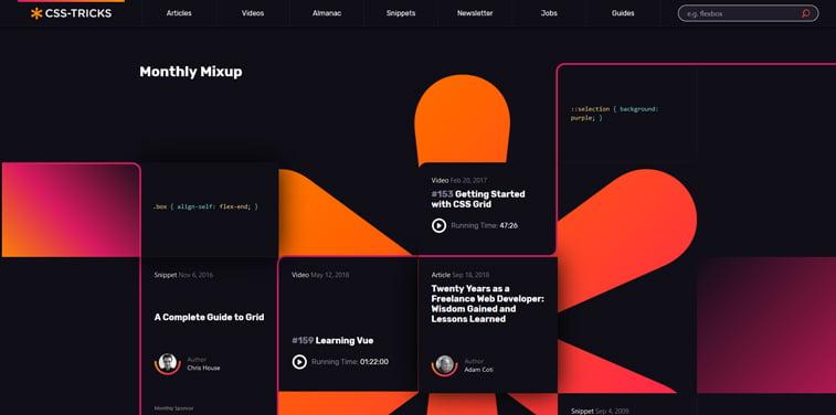 jarke boje web sajt dizajn CSS-Tricks