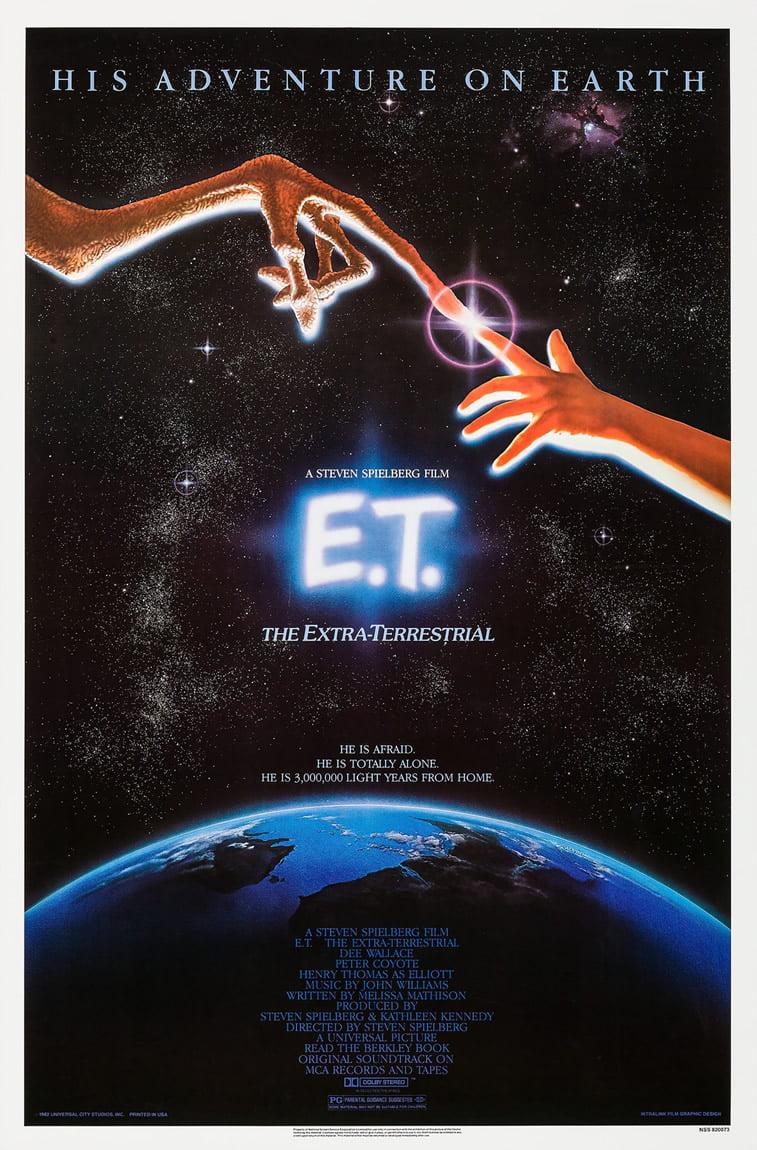 e.t. vanzemaljac plakat za film