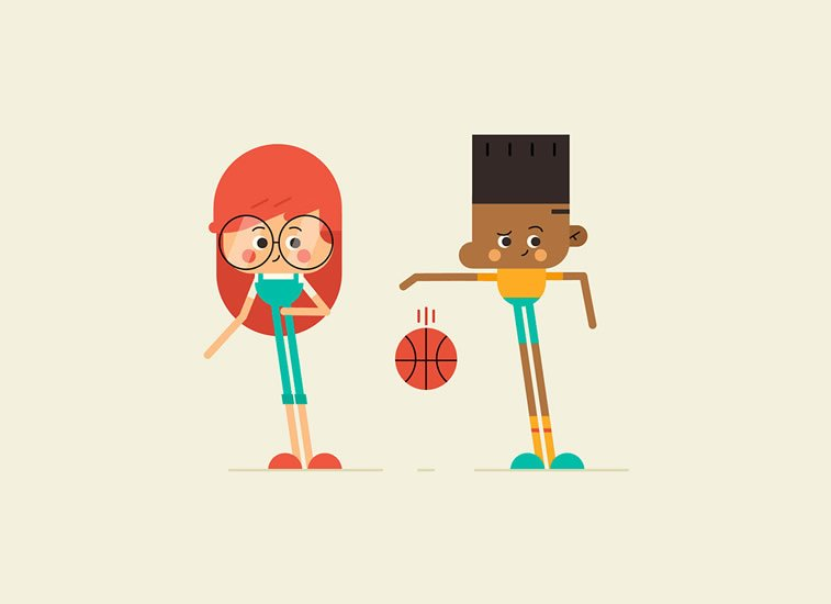 Manuel Neto Illustrated characters