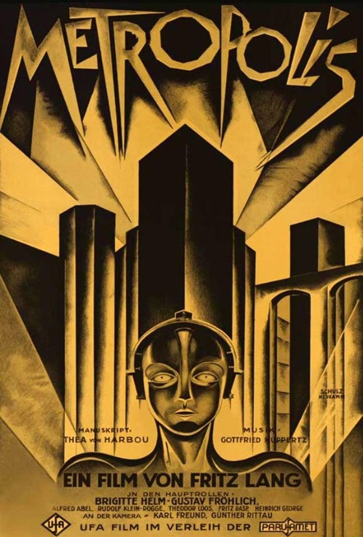 Metropolis friz lang filmski plakat
