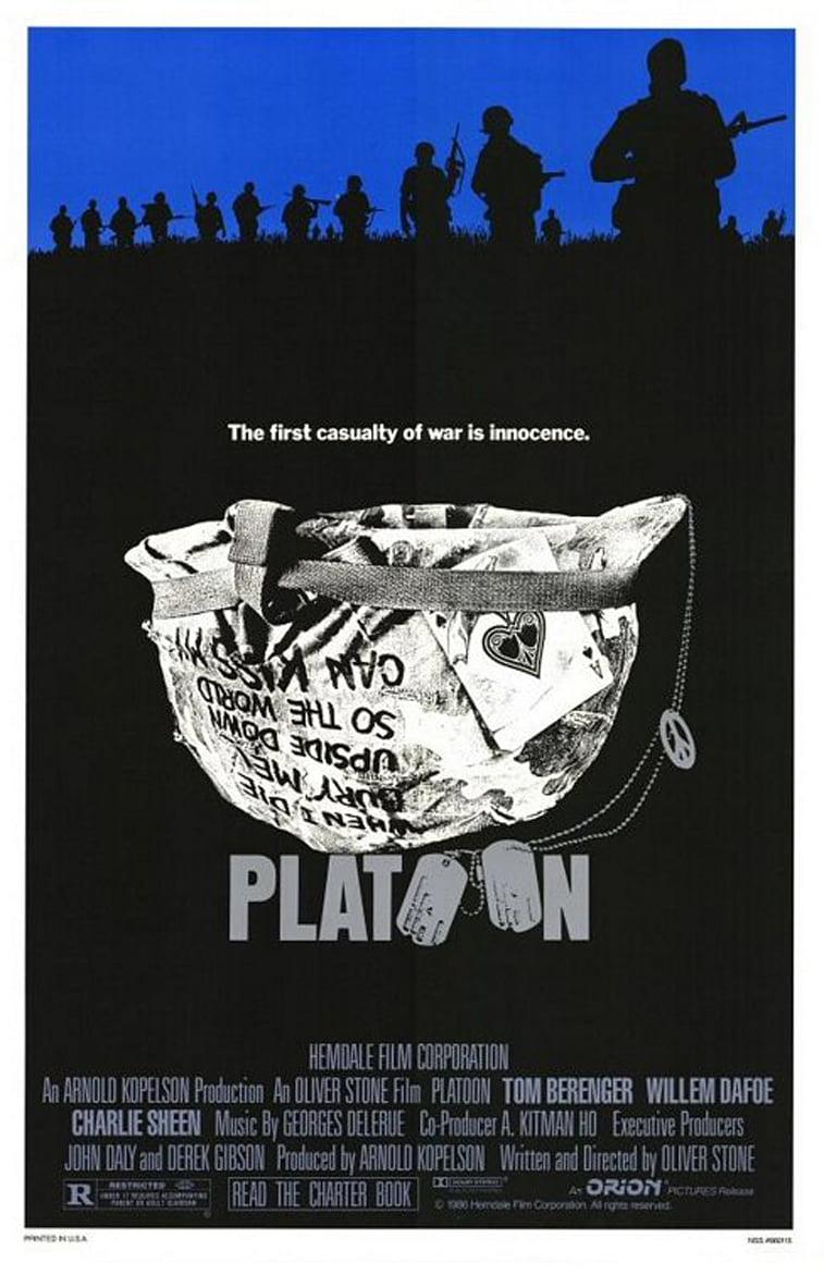 platoon film oliver stoun film poster
