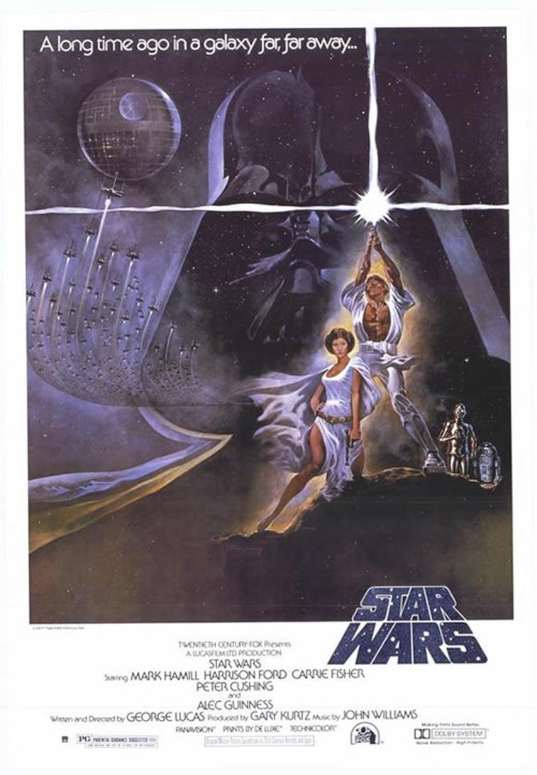 ratovi zvezda star wars 1977 filmski poster
