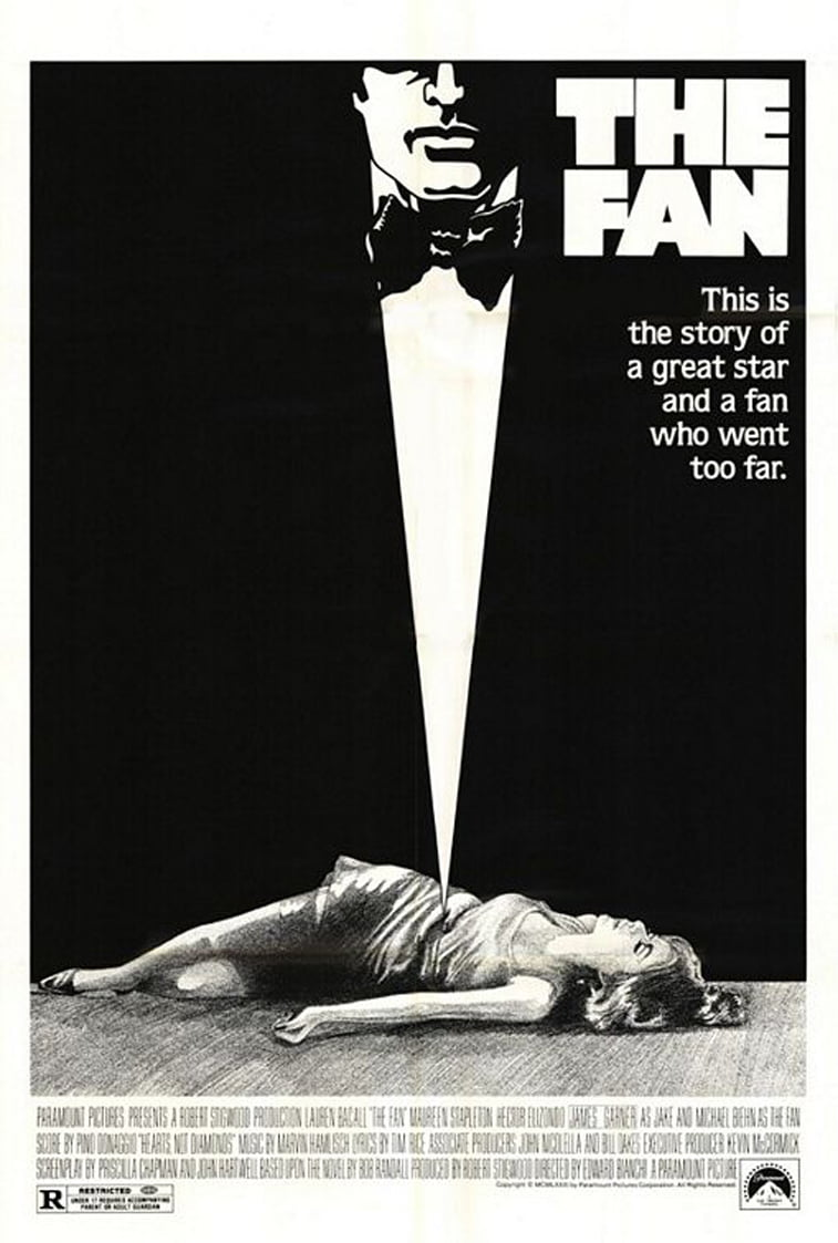 the fan 1981 movie poster