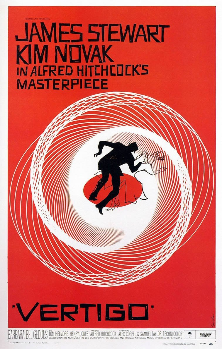 Vertigo filmski plakat