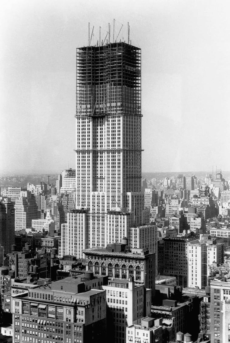 empajer stejt izgradnja zgrade new york
