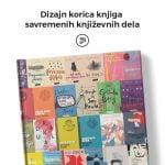 dizajn i ilustrovanje korica knjiga