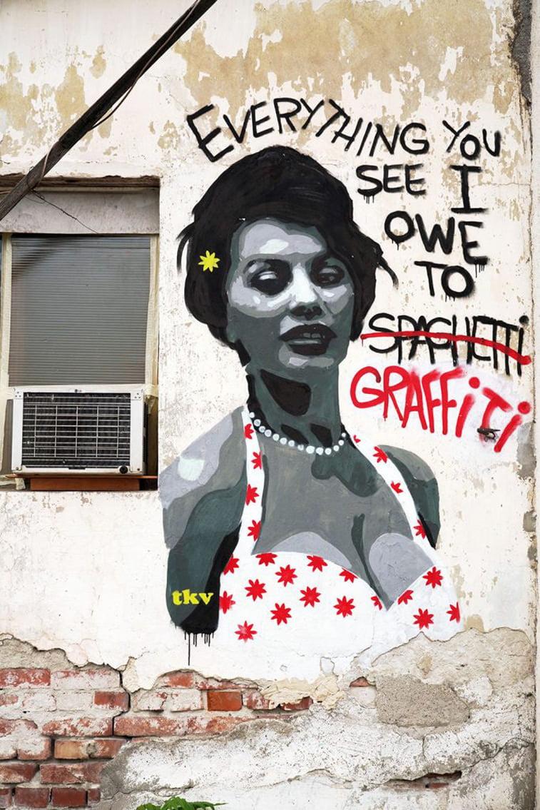 tkv grafit sofija loren street art