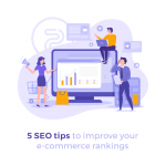 featured image ecommerce seo tips