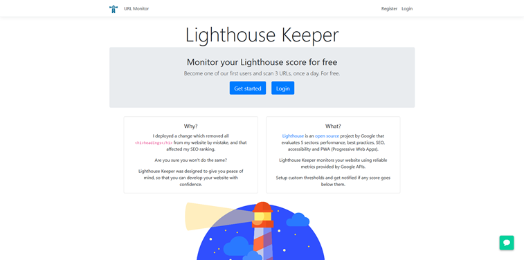 lighthouse keper softver beta