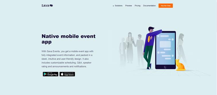 sava events uprvaljenje dogadjajima aplikacija startap