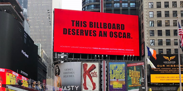 three billboards deserves an oscar