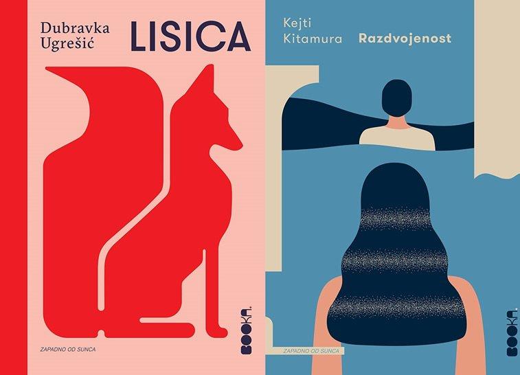 licica, razdvojenost dizajn korica knjige