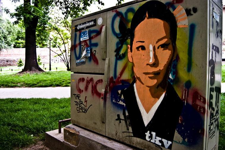 lusi lu tkv grafit street art