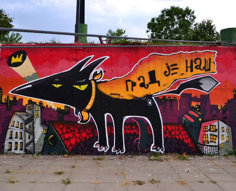 dzeki resto grafit street art