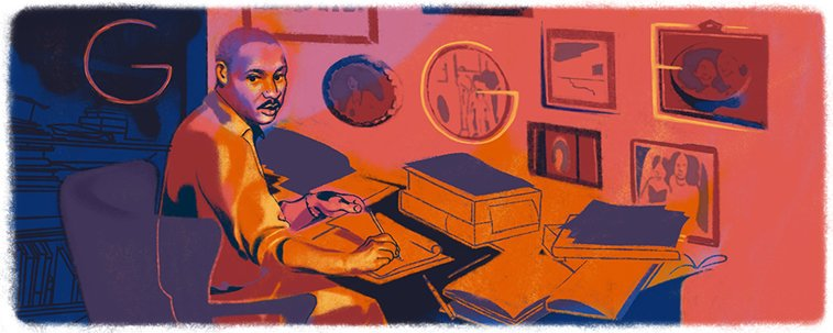 google doodle martin luther king jr MLK day