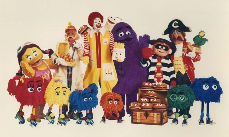 mcdonalds character crew