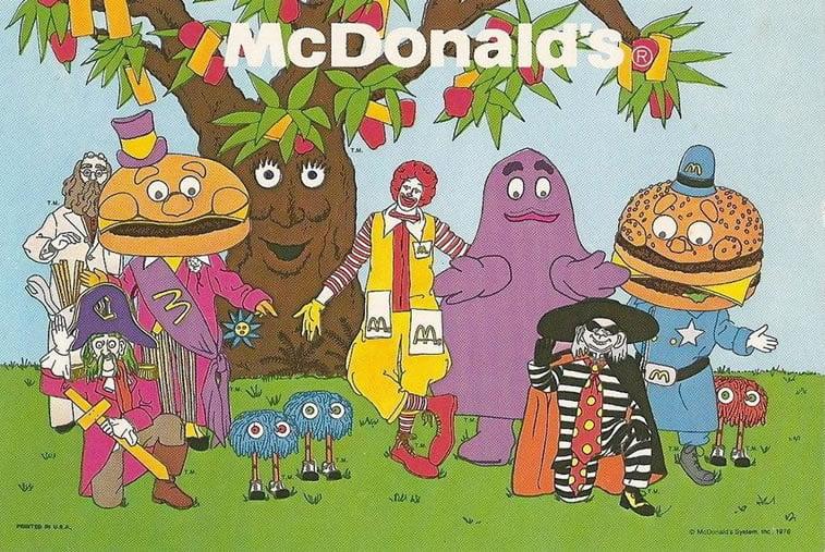 mcdonaldland characters
