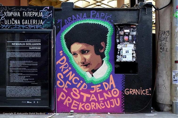 tkv zarana papic street art