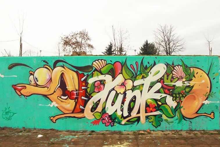 junk kej grafit street art
