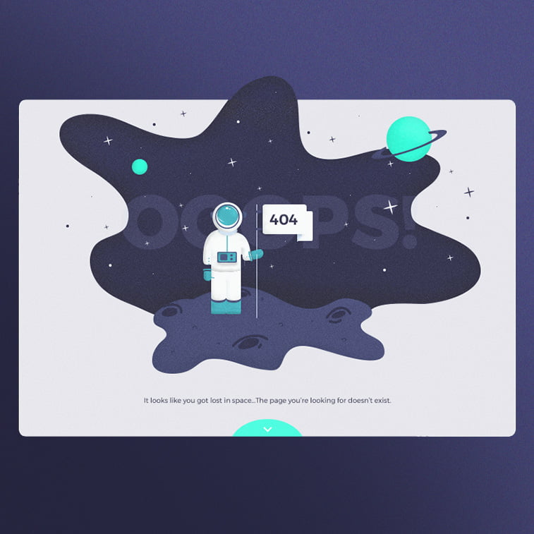 The most creative examples of 404 page design