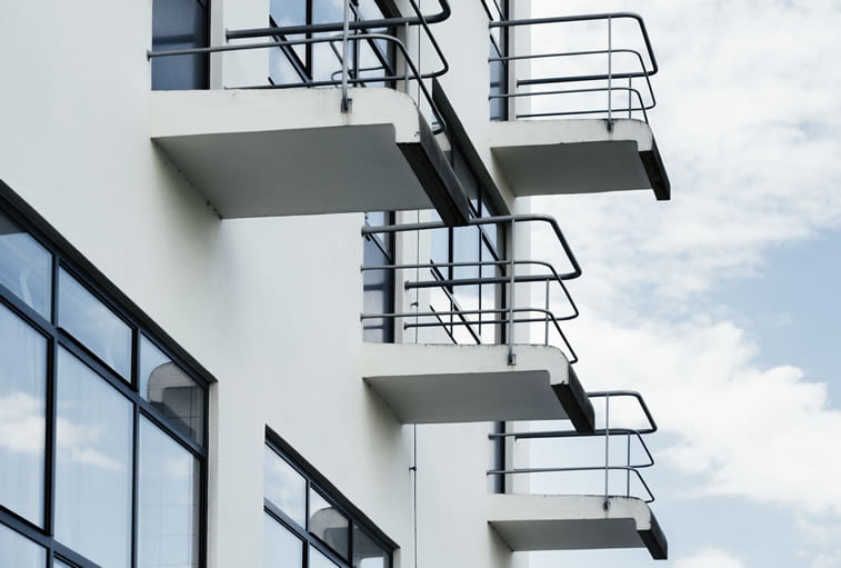 bauhaus dessau zgrada terase