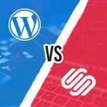 featured image wordpress vs squarespace