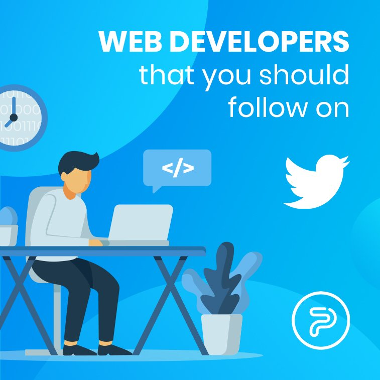 Web developers that you should follow on Twitter