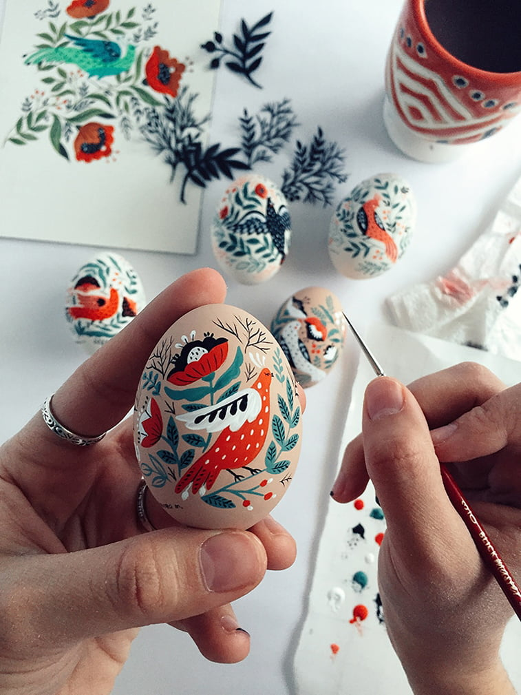 dinara mirtalipova art easter eggs