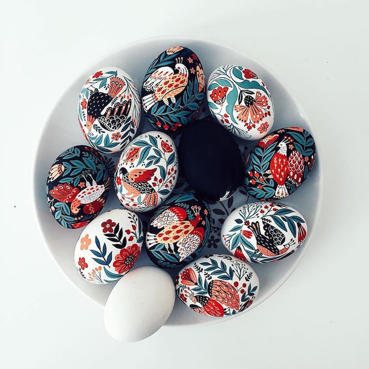 dinara mirtaclipova easter eggs art