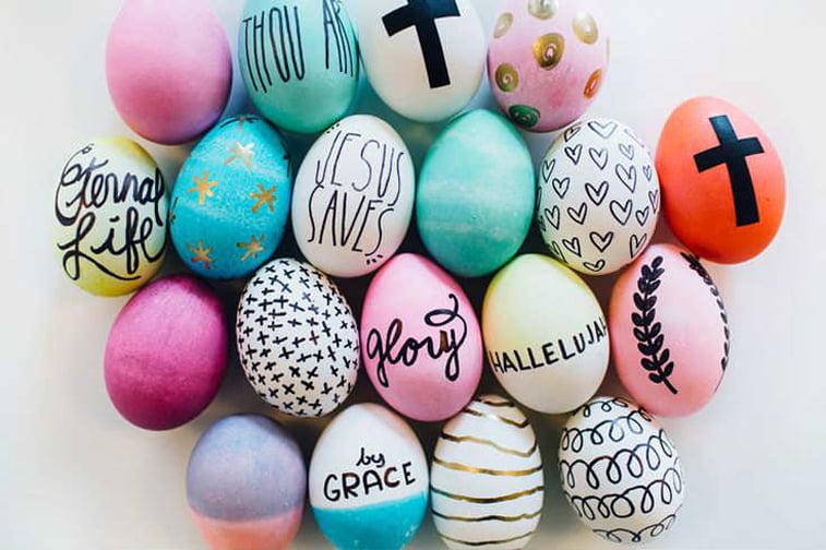 uskrsnja jaja s porukom