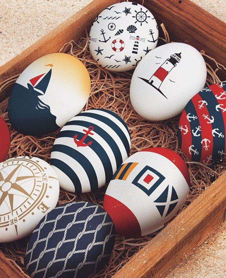 jaja u mornarskom stilu
