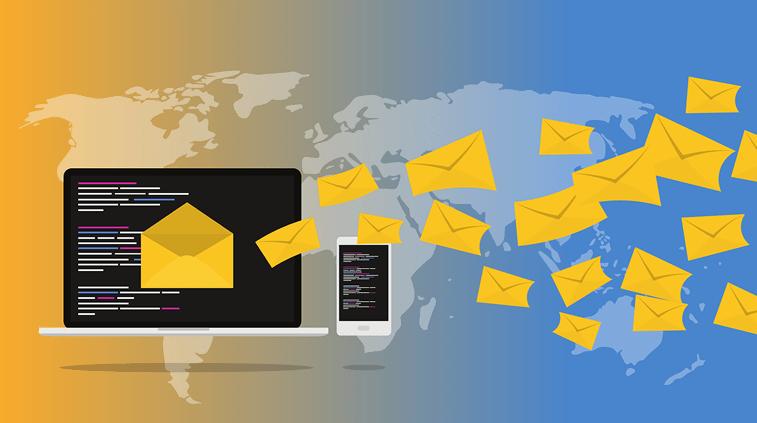 emails sent graphic