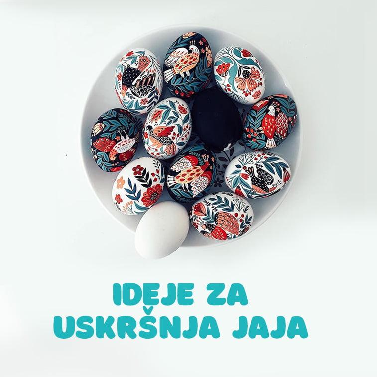 Originalne ideje za ukrašavanje i farbanje uskršnjih jaja